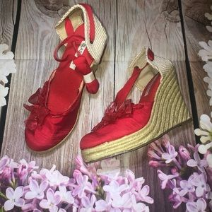 Classified Espadrille Wedges